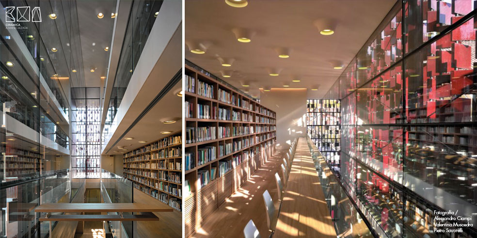 07_Cerámica-a-mano-alzada_Biblioteca Nembro_Archea_luz