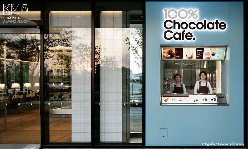 010-azulejo blanco 10x10-Wonder-100-chocolate-cafe-ceramica a mano alzada